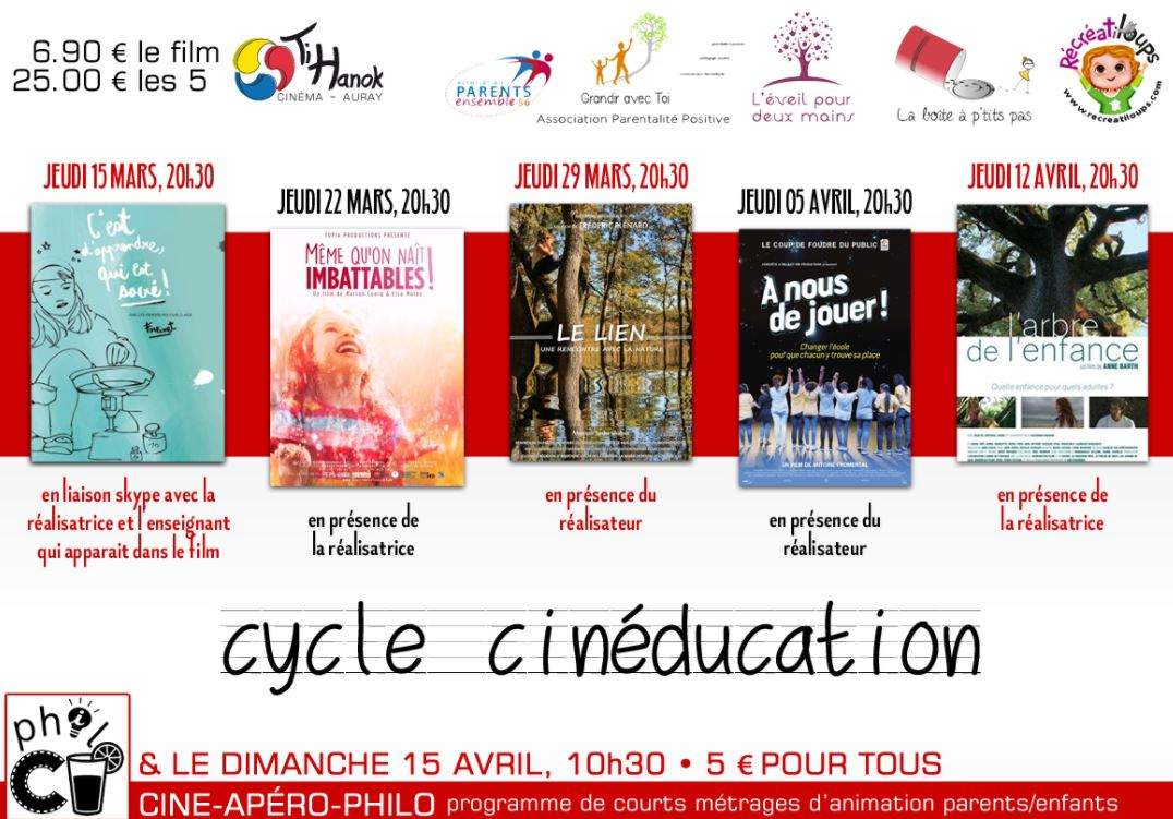 Cicle Cineducation Auray